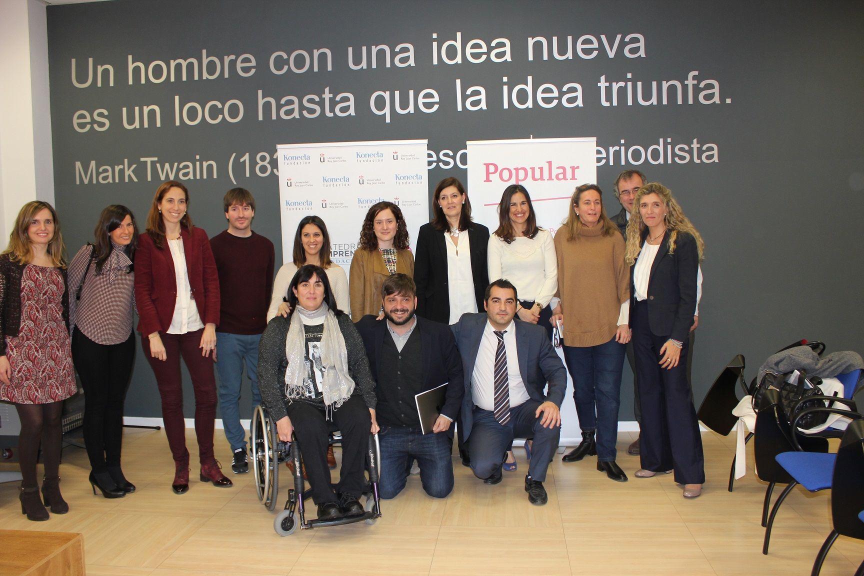 Banco Popular y Cátedra Konecta-URJC acercan los microcréditos al emprendedor con discapacidad